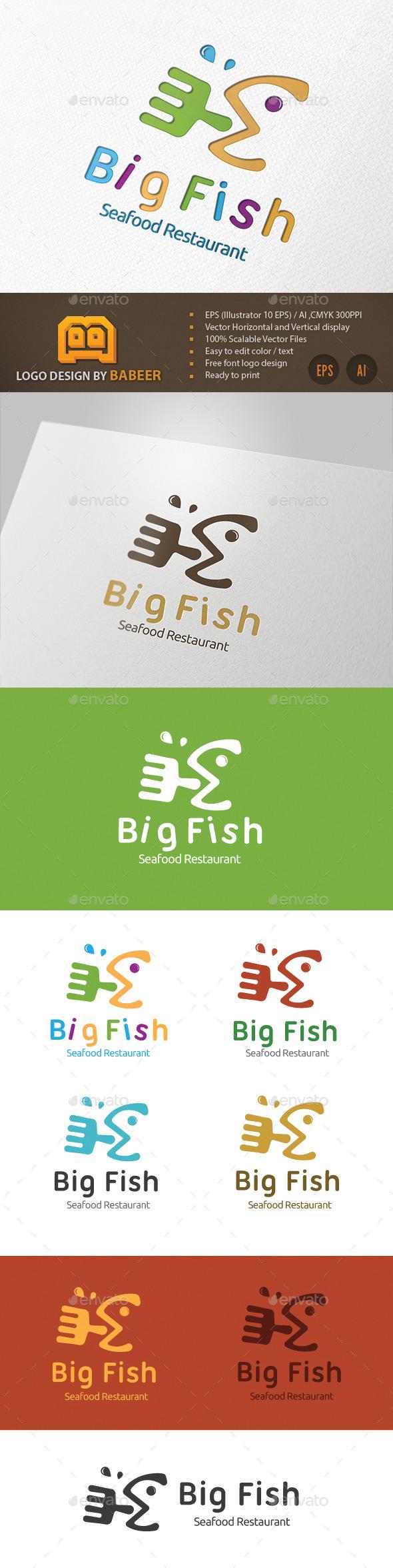 GraphicRiver Restaurant Logo V1 9479197