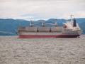 Cargo Ship on the Columbia River at Astoria Oregon USA - PhotoDune Item for Sale