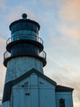 Cape Disappointment Lighthouse at Sunset on the Washington Coast - PhotoDune Item for Sale