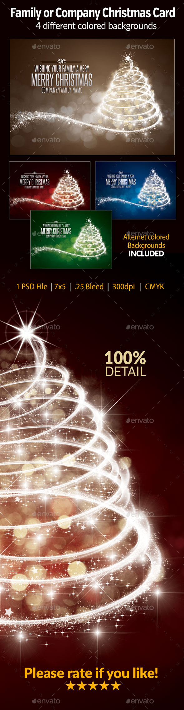 GraphicRiver Family or Company Christmas Card 9479232