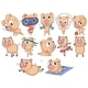 Group of Pigs - GraphicRiver Item for Sale