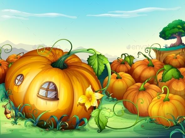 GraphicRiver Pumpkins 9479552