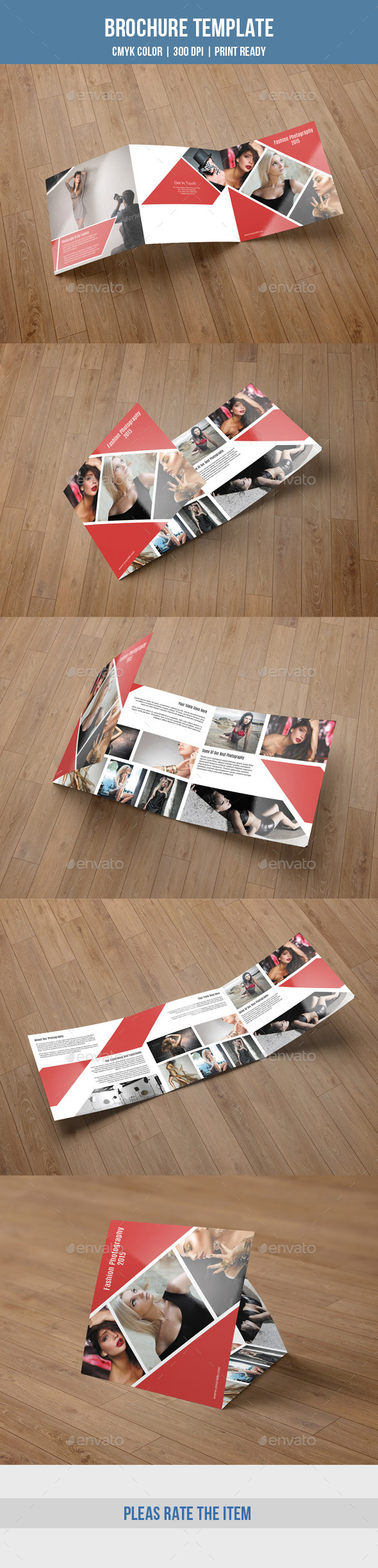 GraphicRiver Square Trifold For Photography-V48 9480014