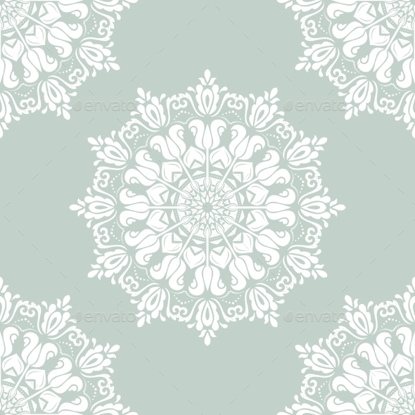 GraphicRiver Damask Seamless Pattern 9480872