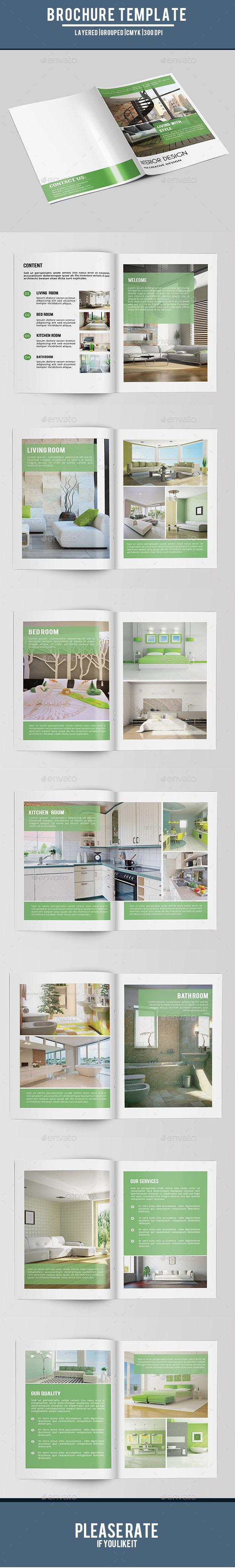 GraphicRiver Bifold Interior Brochure-V158 9481048
