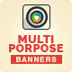 Multi Purpose Business Banners - GraphicRiver Item for Sale