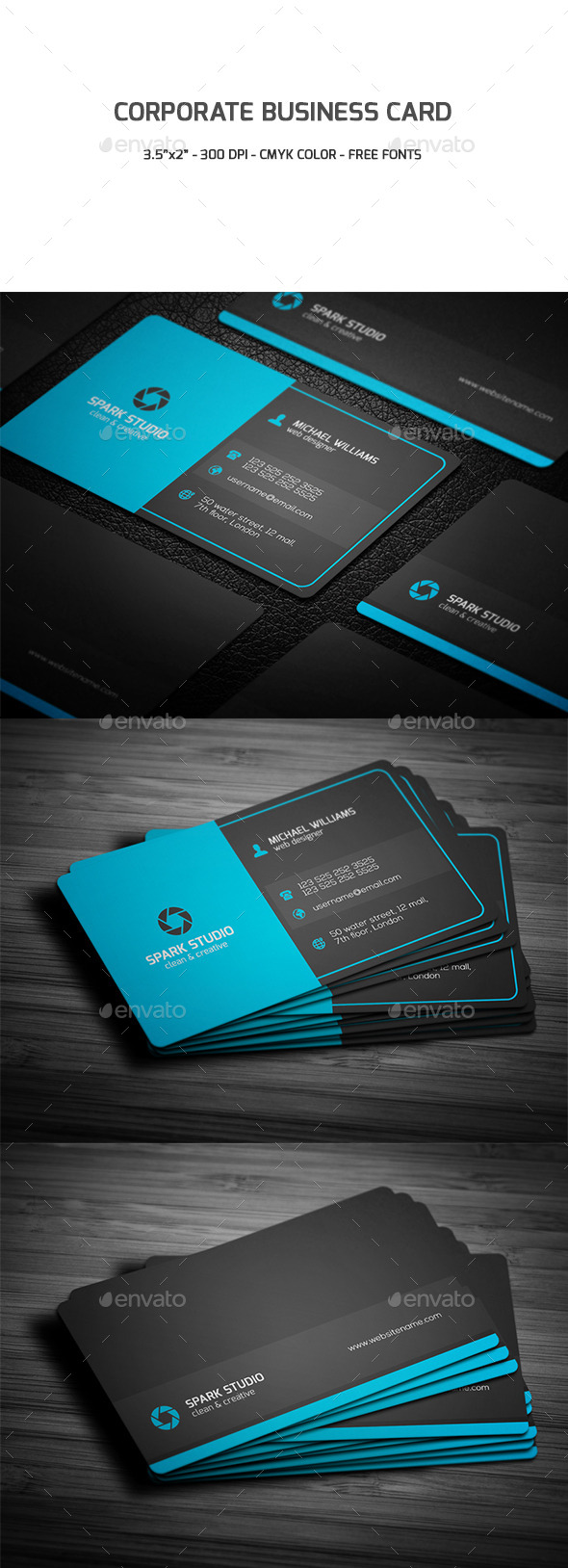GraphicRiver Corporate Business Card 9481072