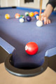 Playing Pool on Pool Table - PhotoDune Item for Sale