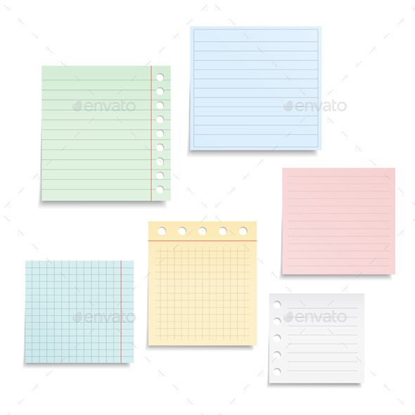 GraphicRiver Notebook Paper 9481376