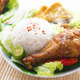 Malay food nasi ayam penyet - PhotoDune Item for Sale