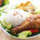 Malay food nasi ayam penyet - PhotoDune Item for Sale