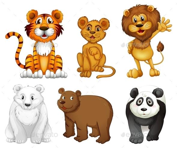 GraphicRiver Wild Animals 9482010