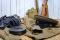 equipment of the Soviet soldier during World War II - PhotoDune Item for Sale