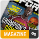 Sport Magazine #4 - GraphicRiver Item for Sale