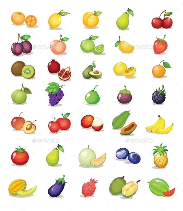 GraphicRiver Mixed Fruit 9482478