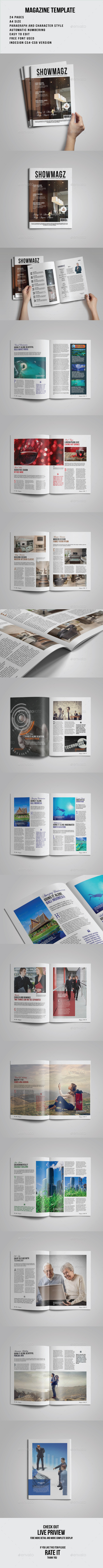 GraphicRiver Magazine Template 9482523