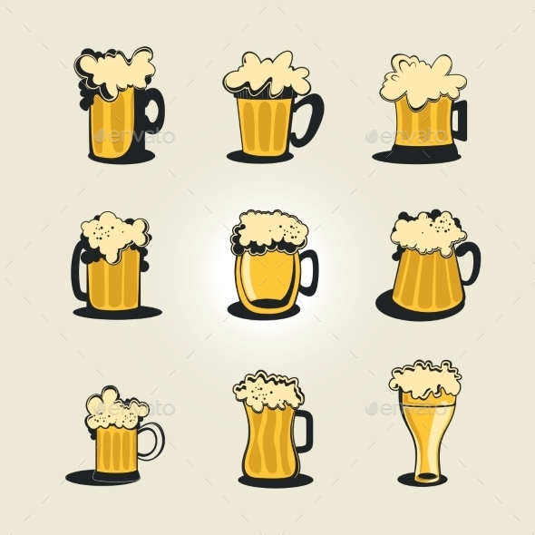 GraphicRiver Beer Collection 9483896