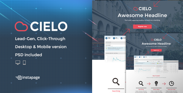 Cielo - Bundle Unbounce pages