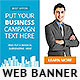 Corporate Web Banner Design Template 57 - GraphicRiver Item for Sale