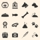 Vector Set of Pets Icons - GraphicRiver Item for Sale