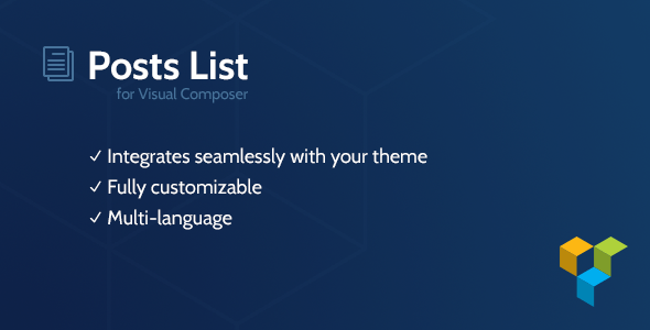 CodeCanyon Posts List for Visual Composer 9456666