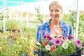 Gardener with flowers - PhotoDune Item for Sale