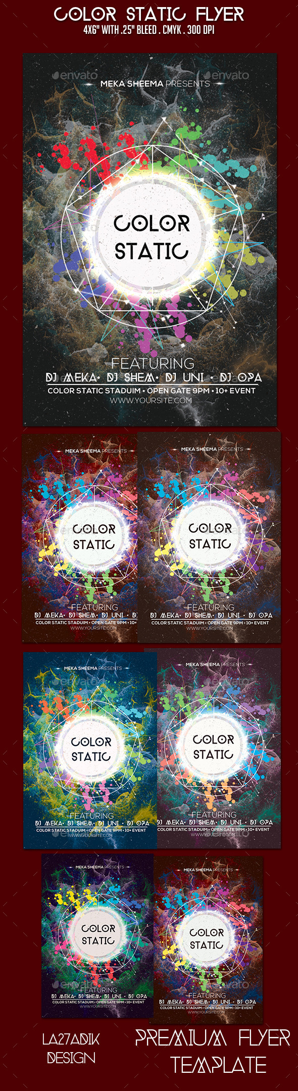 GraphicRiver Color Static Flyer 9485532