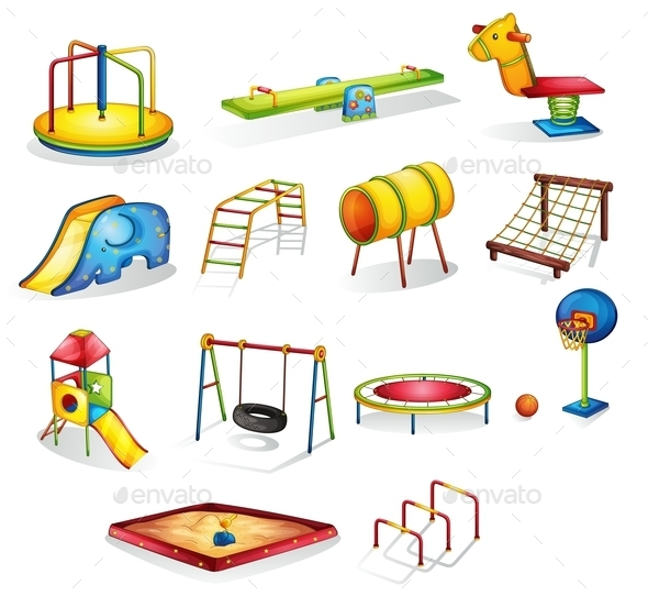 GraphicRiver Play Equipment 9485869