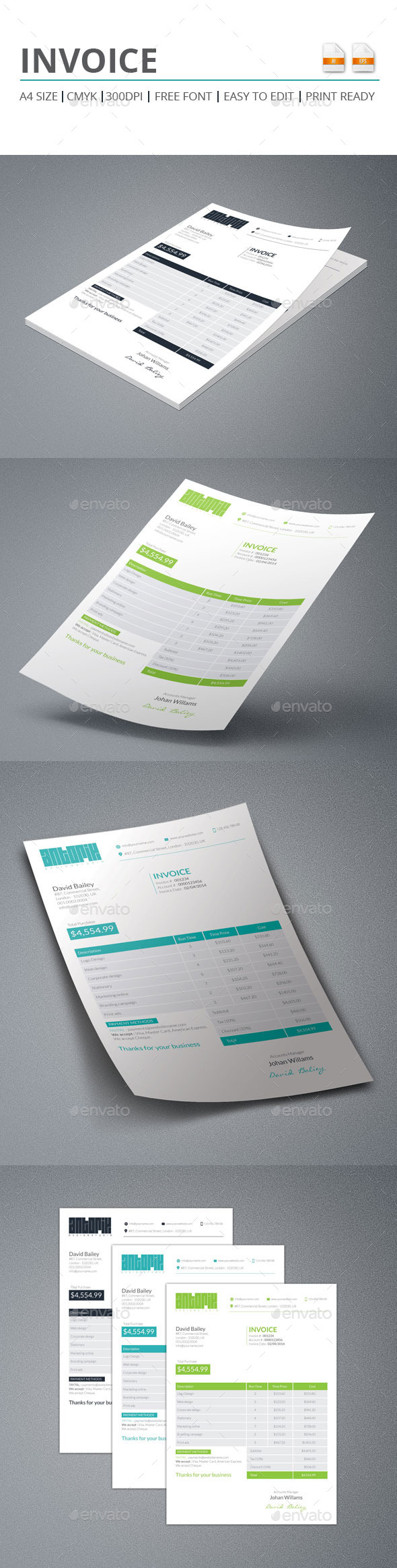 GraphicRiver Invoice 9486173