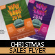Christmas Sales Flyer Template - GraphicRiver Item for Sale