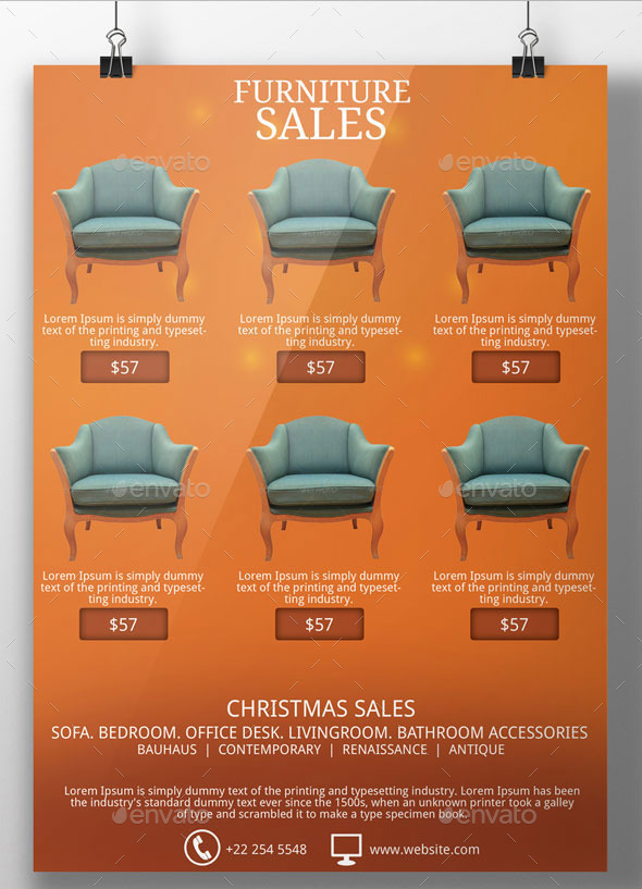 Christmas Sales Flyer Template by BloganKids – Sales Flyer Template