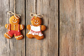 Christmas homemade gingerbread couple cookies - PhotoDune Item for Sale