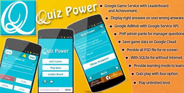 CodeCanyon Quiz Power 9486586