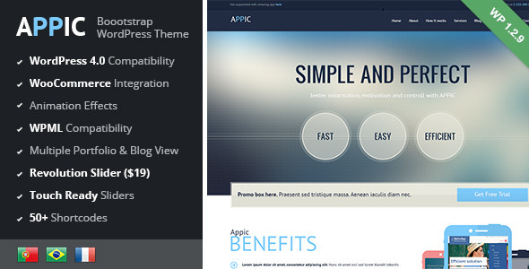 Appic - Business & Technology WordPress Theme - Technology WordPress