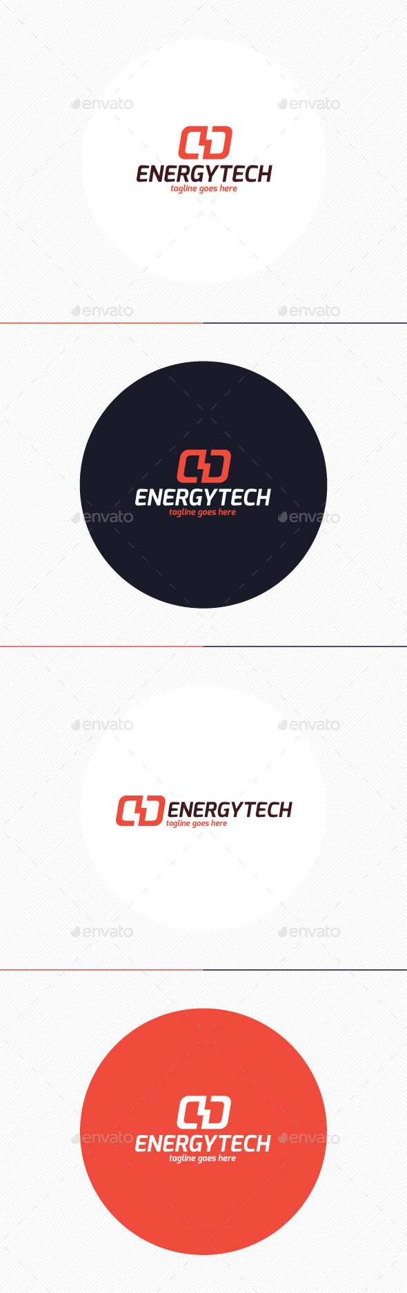 GraphicRiver Energy Tech Logo 9486994