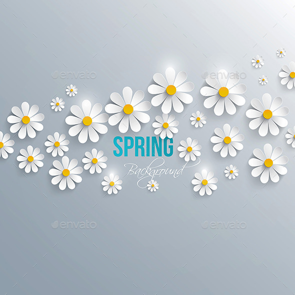 GraphicRiver Abstract Spring Background 9487385