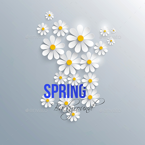 GraphicRiver Abstract Spring Background 9487396