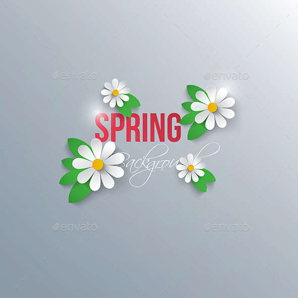 GraphicRiver Abstract Spring Background 9487400