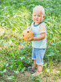 Baby with wicker ball - PhotoDune Item for Sale