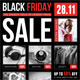 Black Friday Flyer V01 - GraphicRiver Item for Sale