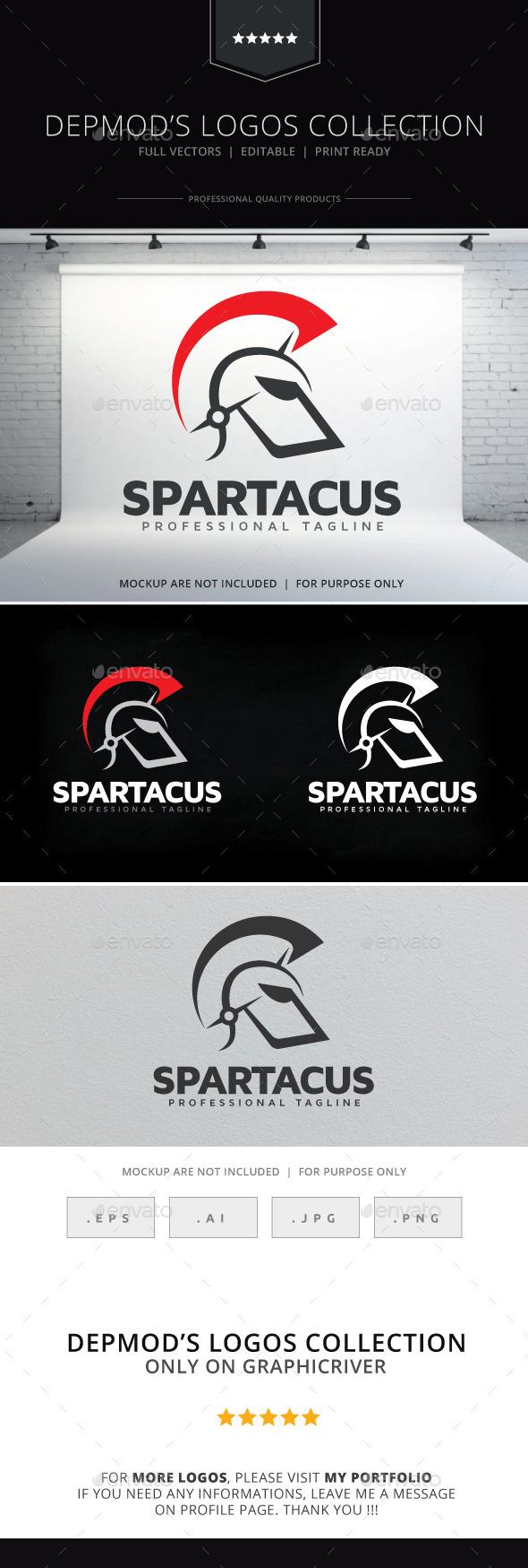GraphicRiver Spartacus Logo 9487817
