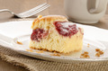 cake with strawberry filling and powdered sugar - PhotoDune Item for Sale