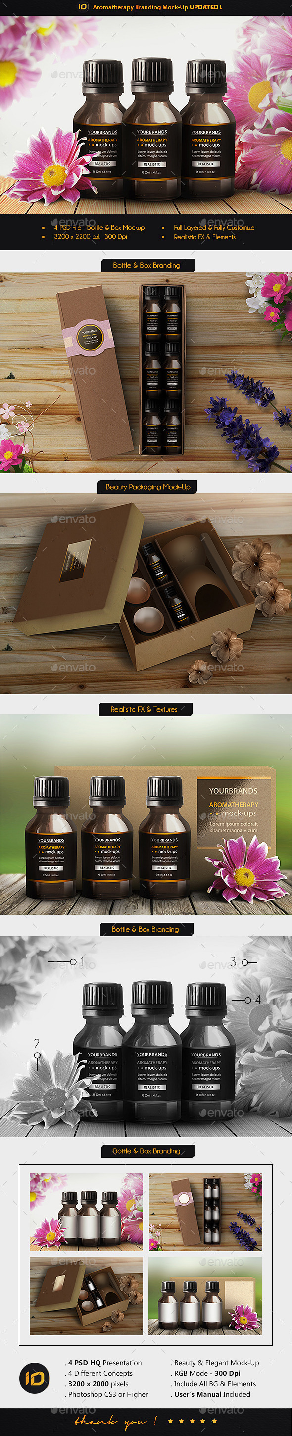 Aromatherapy Branding Mock-Up
