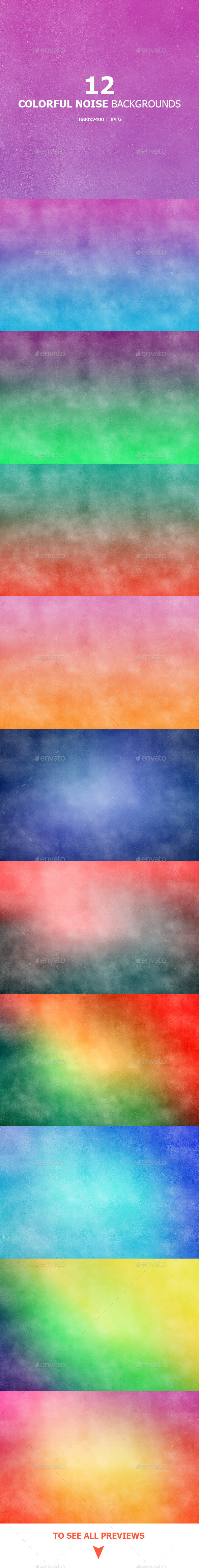 GraphicRiver Colorful Noise Backgrounds 9490741