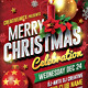 Merry Christmas Celebration Flyer - GraphicRiver Item for Sale