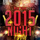 New Year 2015 Party Flyer - GraphicRiver Item for Sale