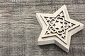 Carved wooden star - PhotoDune Item for Sale