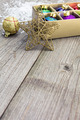 Christmas toys on wooden boards - PhotoDune Item for Sale