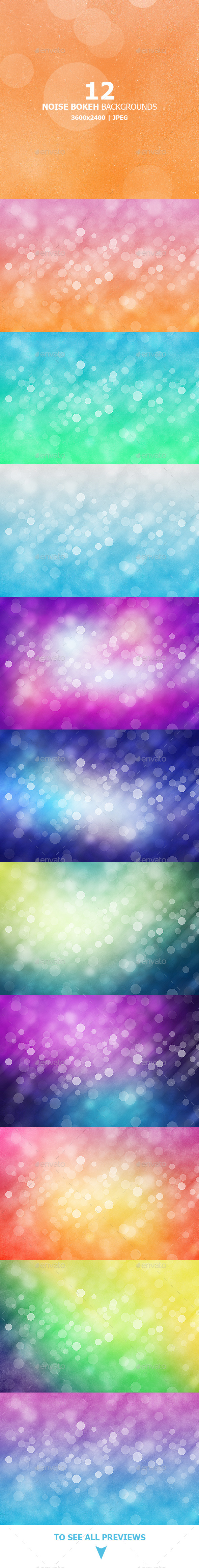 GraphicRiver Noise Bokeh Backgrounds 9490936