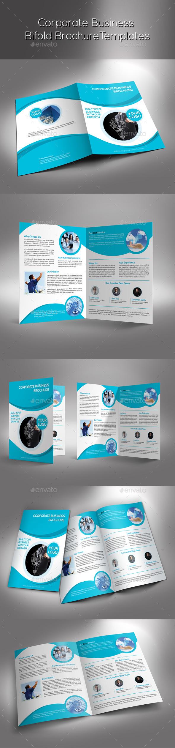 GraphicRiver Corporate Bifold Brochure 9491258